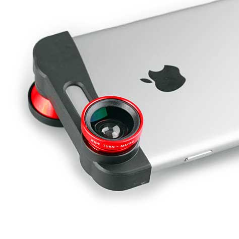 3-in-1 Quick Change Lens Kit iPhone 6 6s Plus