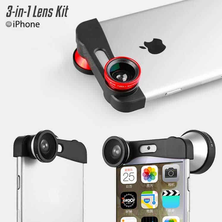 3-in-1 Quick Change Lens Kit - iPhone 6 | 6s | 6+| 6s+
