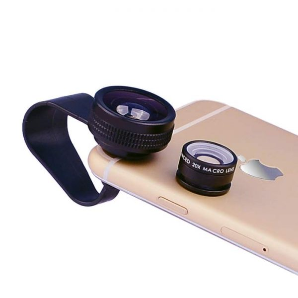 fisheye lens macro lens