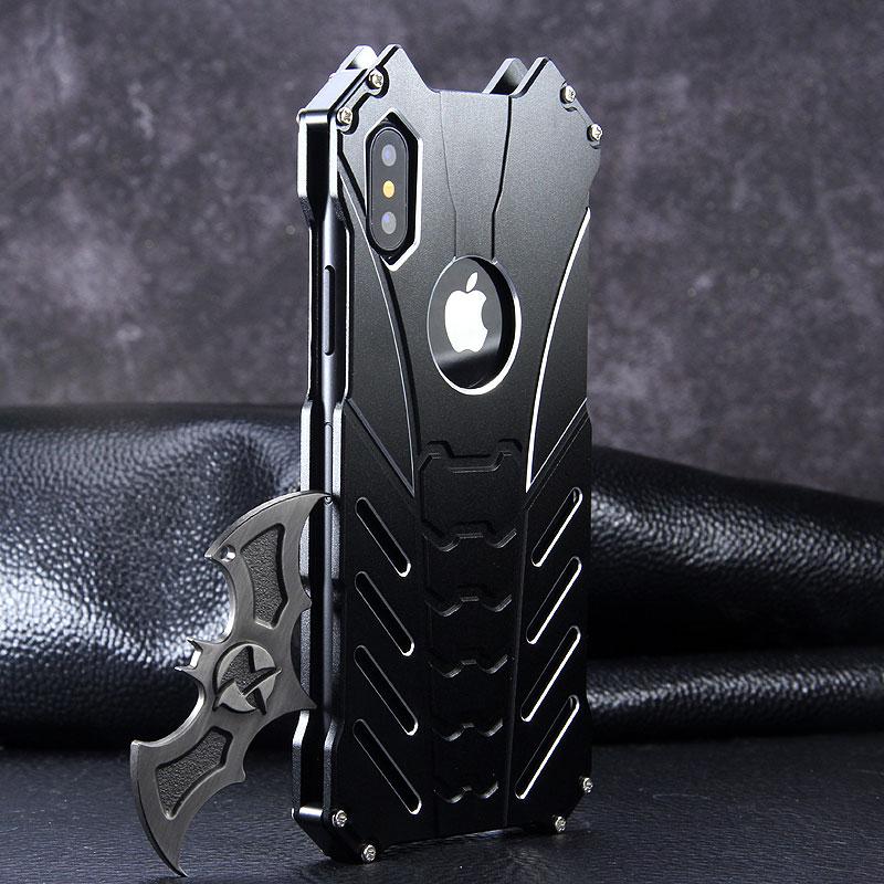 buy popular 8767c fc329 Batman iPhone Case Metal Armor