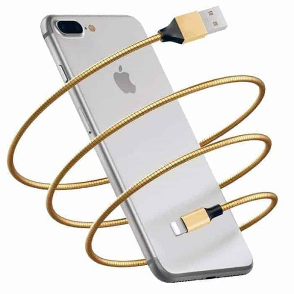 Indestructible Metal iPhone Lightning Cable