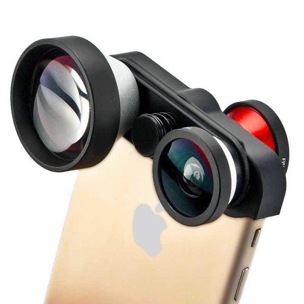 4-in-1 Rapid Rotating Multi-Lens Kit iPhone 6 6s Plus