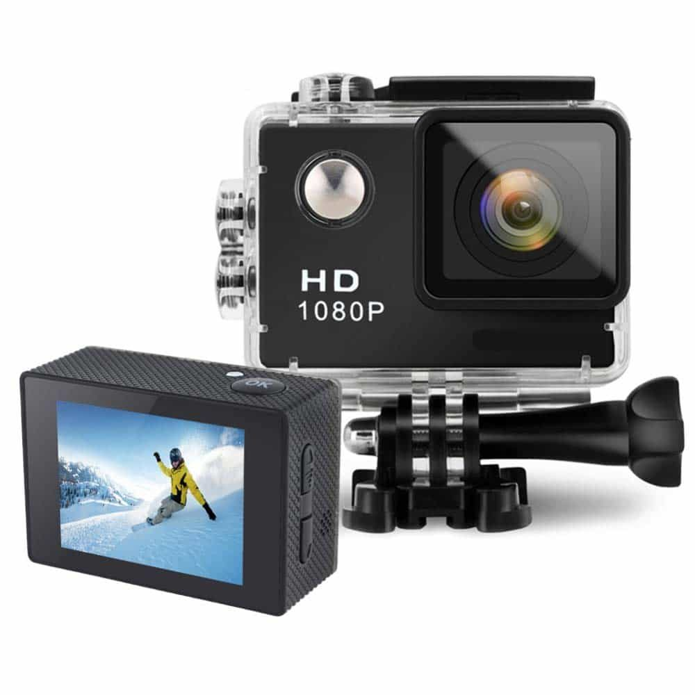 groot action camera sports camcorder full hd 1080p. Black Bedroom Furniture Sets. Home Design Ideas