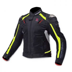 KOMINE JK-63 Titanium Motorcycle Riding Jacket R-Spec