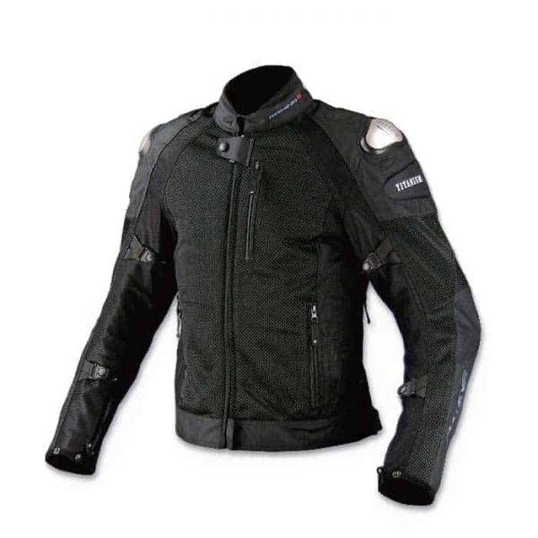 KOMINE JK-700 Titanium Motorcycle Riding Jacket