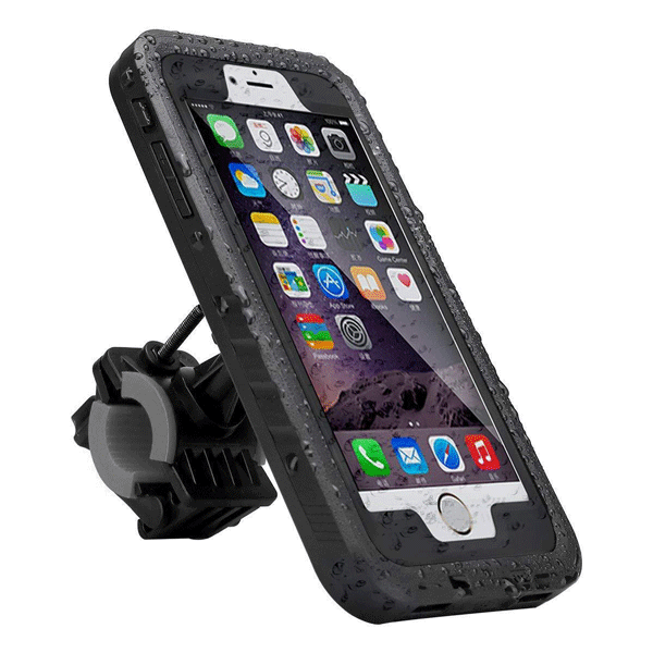 Bike 6 Phone Mount is Waterproof Dustproof
