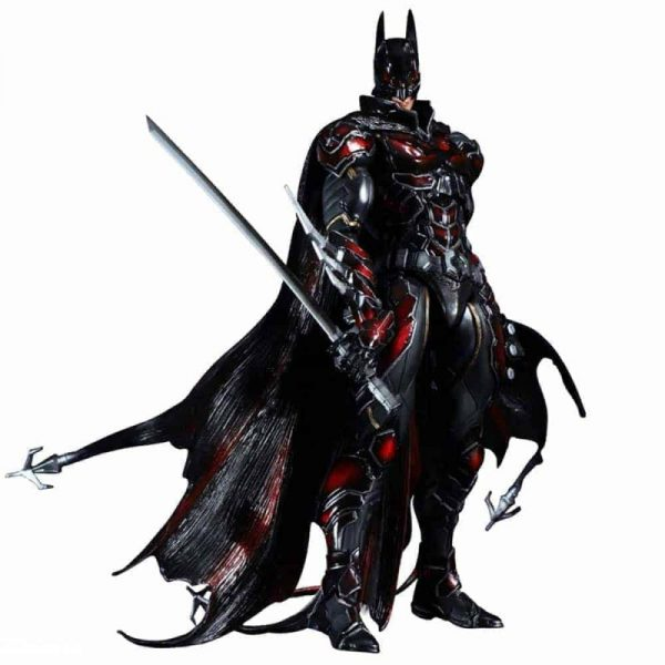 dc comics variant play arts kai batman red
