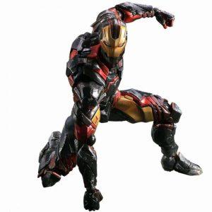 Marvel Variant PLAY ARTS KAI Iron Man Action Figure