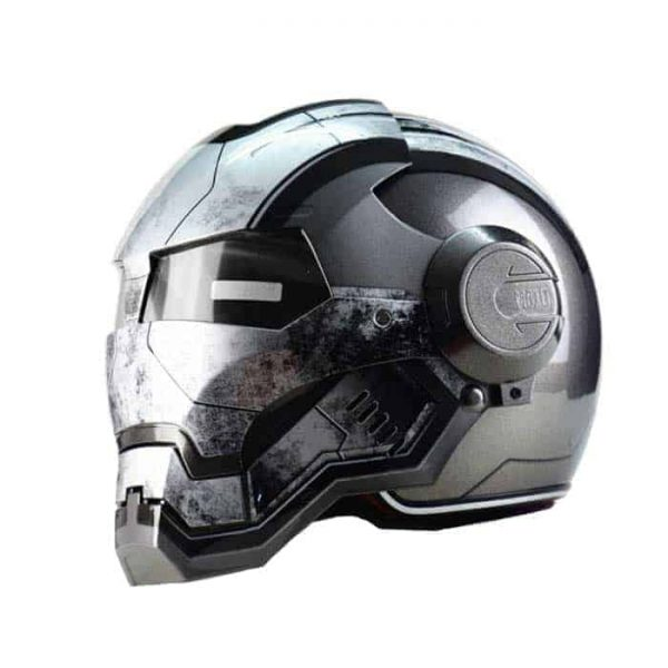 WAR MACHINE Iron-man Motorcycle Helmet