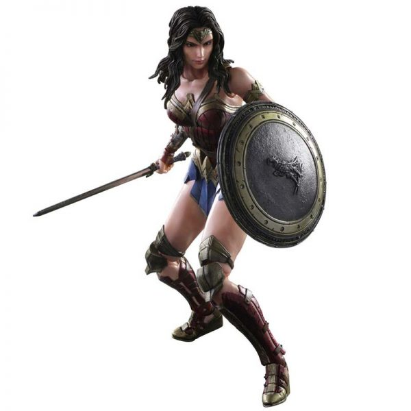 BvS PLAY ARTS KAI Wonder Woman Action Figure