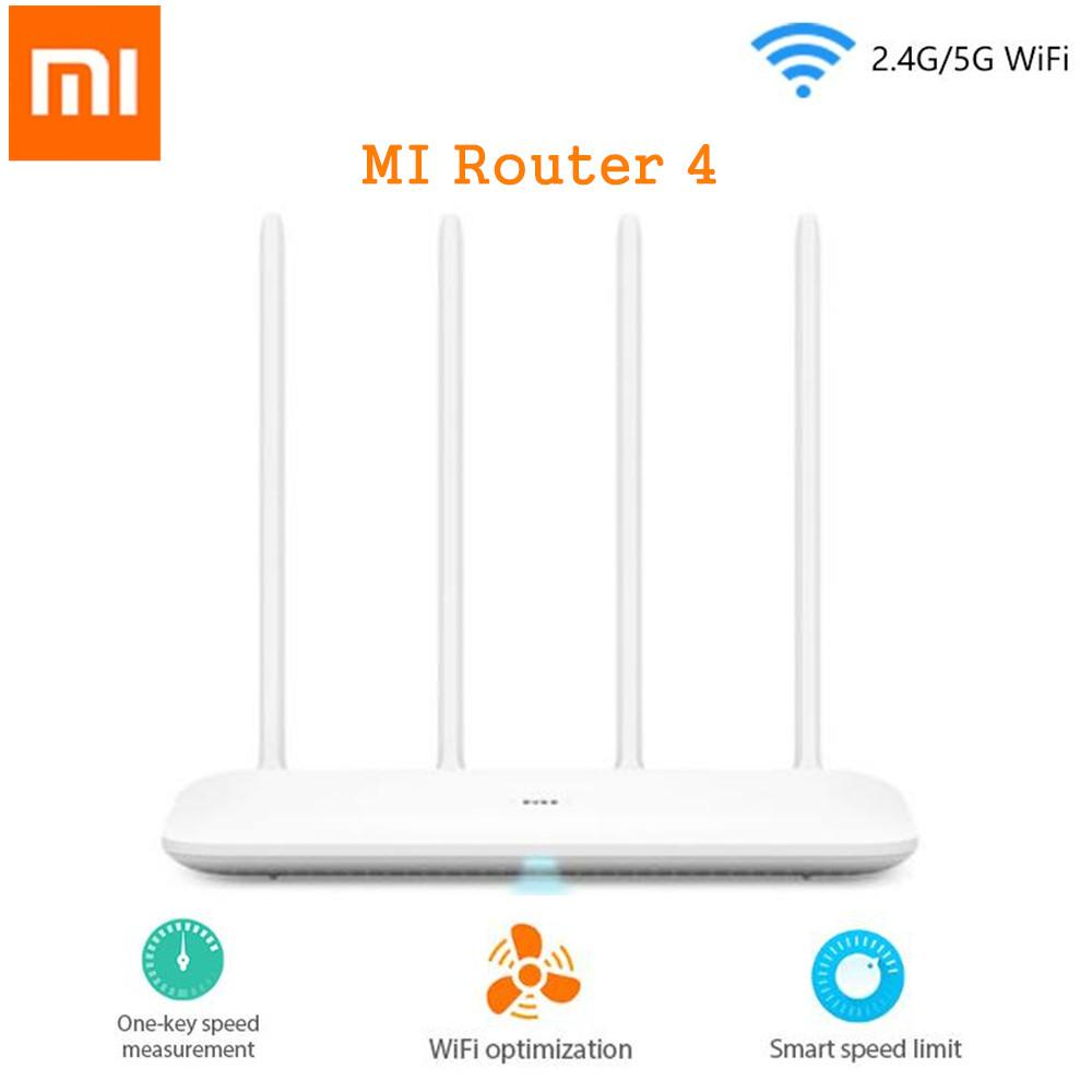 צעיר Xiaomi Mi Router 4 Dual-band Wireless WiFi Router | GROOT GADGETS II-73
