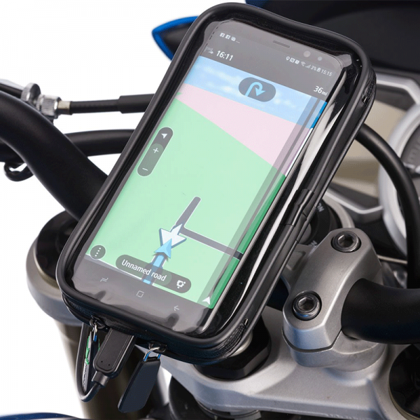 Motorcycle Waterproof Mobile Holder Bike Phone Mount