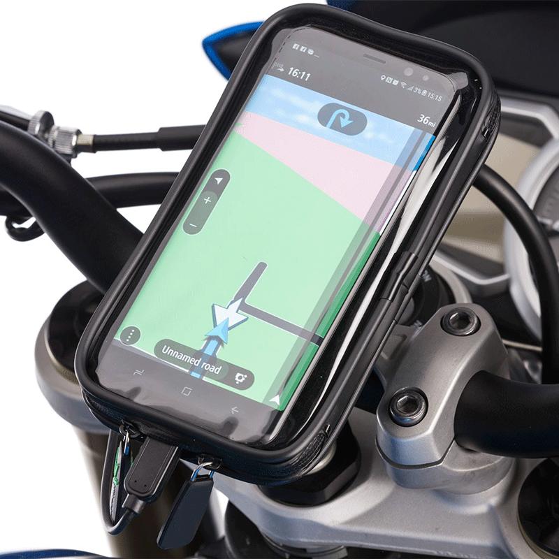 Bicycle Phone Mount >> Motorcycle Waterproof Mobile Holder Bike Phone Mount