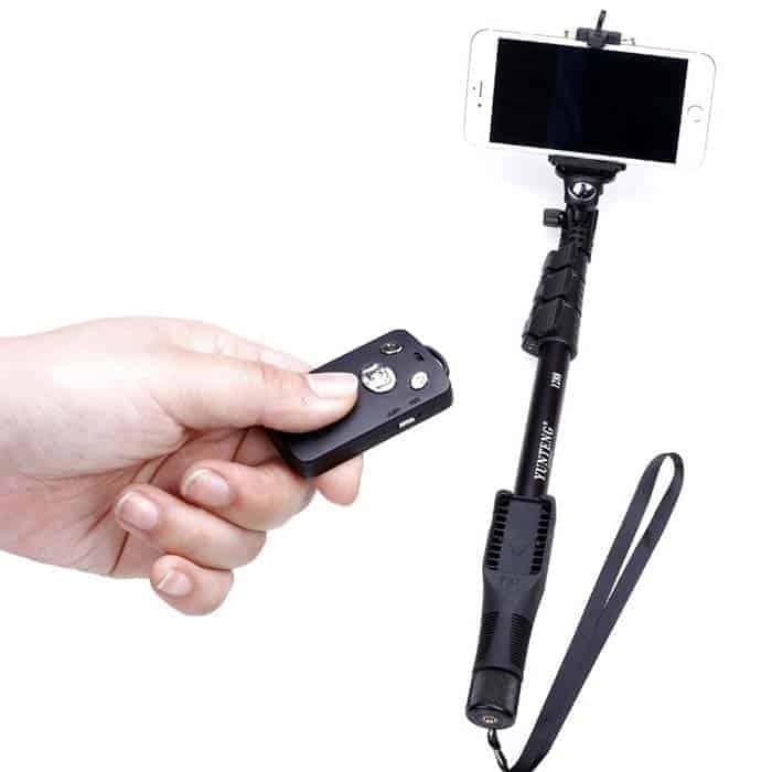 Professional Selfie Monopod Shutter Remote Bluetooth