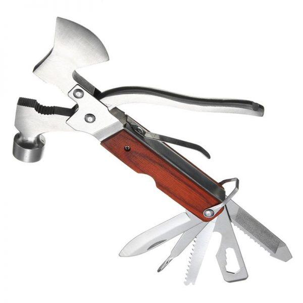 12-in-1 Multi Tool Camping Axe Tool