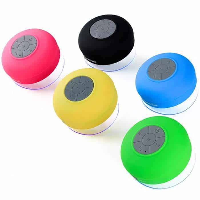 SoundBot Bluetooth Waterproof Shower Speaker + Call Receiver
