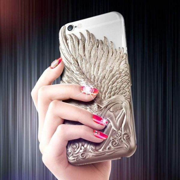 Angel Wings Luxury Cover iPhone 6 6S plus