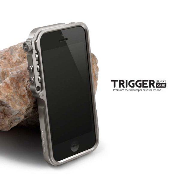 trigger 4th Design Mechanical Armor Bumper Case iPhone 6 6s Plus