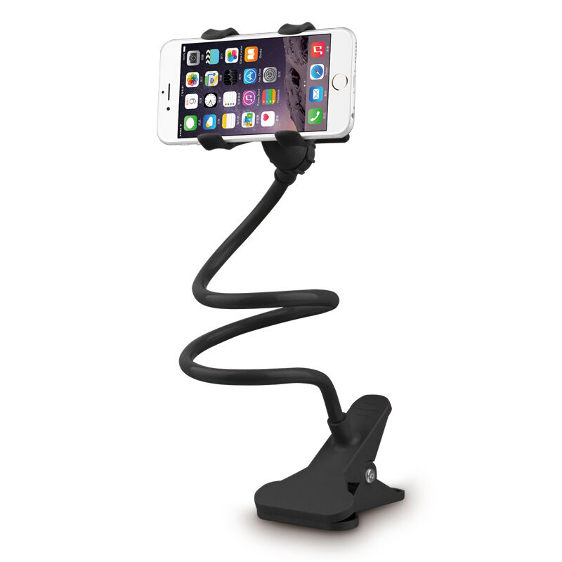 360° Flexible Phone Stand Metal Phone Holder for Bed Table Car 1a65621247e