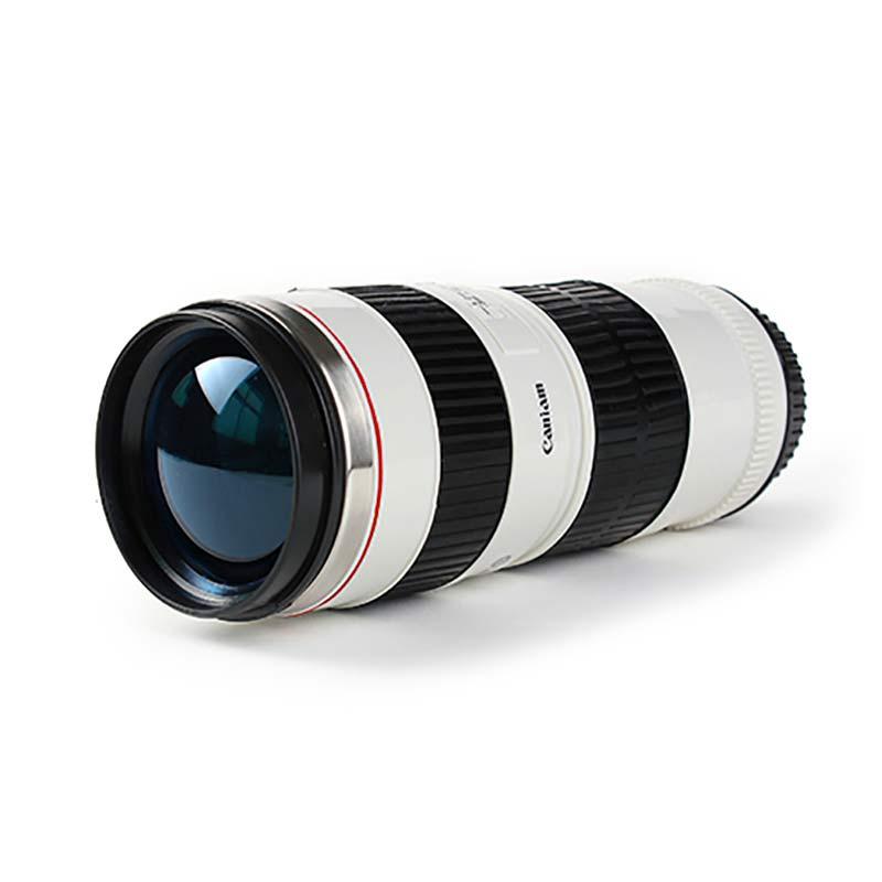 Camera lens coffee mug canon 70 200mm replica for Canon photo lens mug