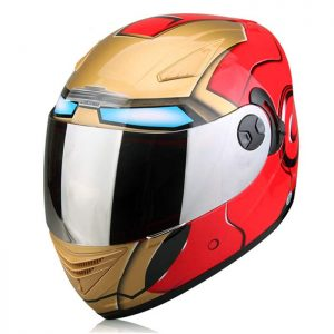 IRON MAN Full Face Motorcycle Helmet