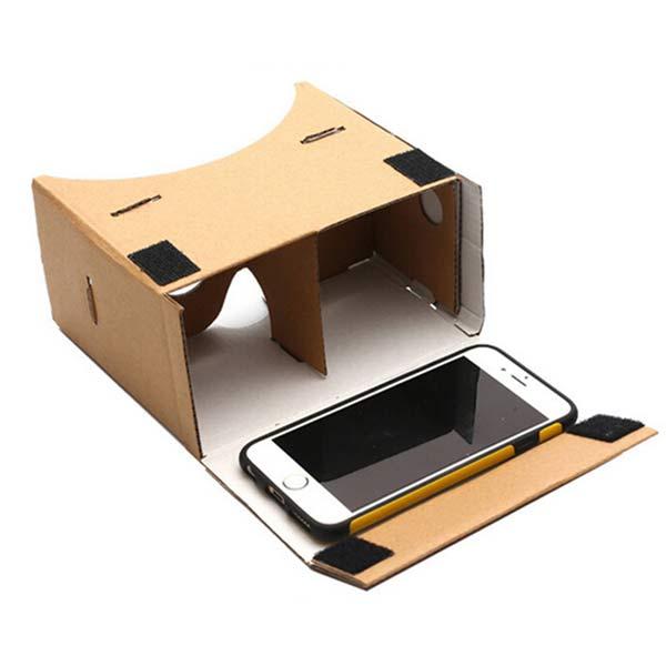 Google Cardboard DIY Virtual Reality 3D Glasses