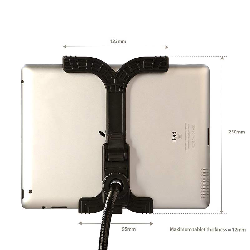 360 rotating universal tablet ipad flexible stand for Stand pliable