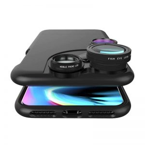 iZZi Slim 4-IN-1 iPhone Camera Lens Case