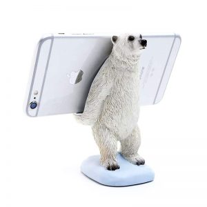 Polar Bear Phone Stand