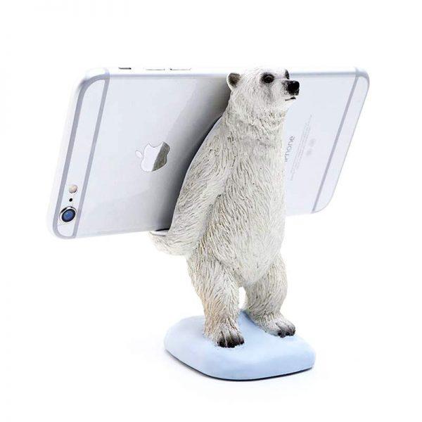 Polar Bear Phone Stand