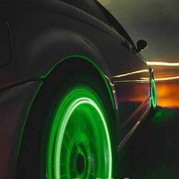Skull Tyre Valve LED Light - Wheel Lights for Cars, Bikes & Motorcycles