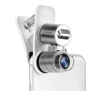 60X Zoom Mini Microscope Universal Mobile Lens