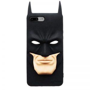 3D Batman Face iPhone Case