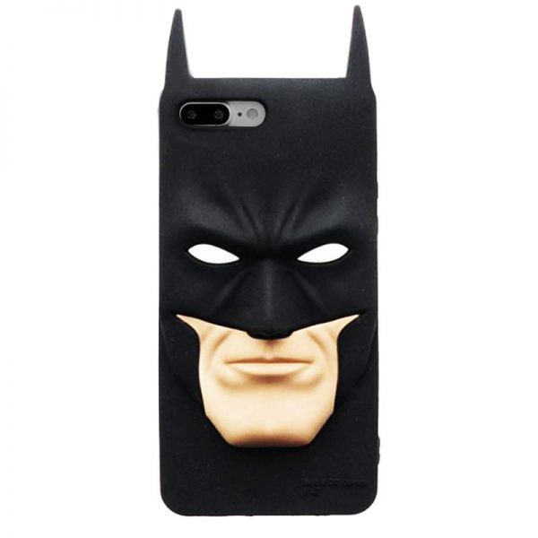 3D Batman Face iPhone Case
