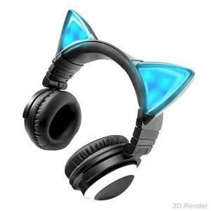 Cat Ear Headphones