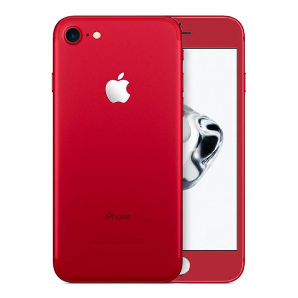iPhone 7 RED Titanium Gorilla Glass Casing