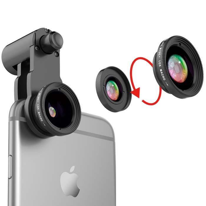 2-IN-1 Detachable Mobile Camera Lens Kit