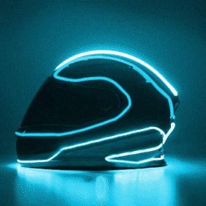 LightFury tron helmet light kit