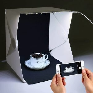 Groot Foldable Lightbox Photo Studio - World's First Smartphone Studio