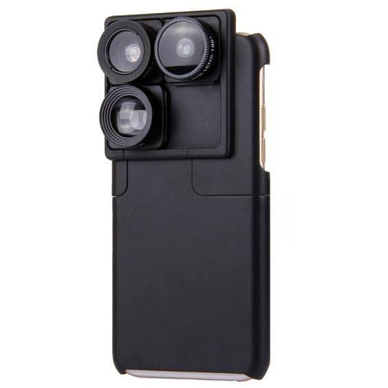 puzlook multi-lens case iphone 6 6s plus