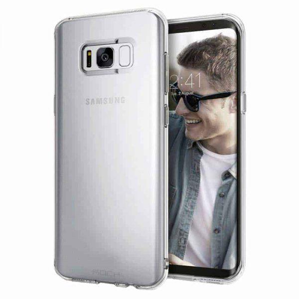 ROCK Liquid Crystal Case Galaxy S8 Plus