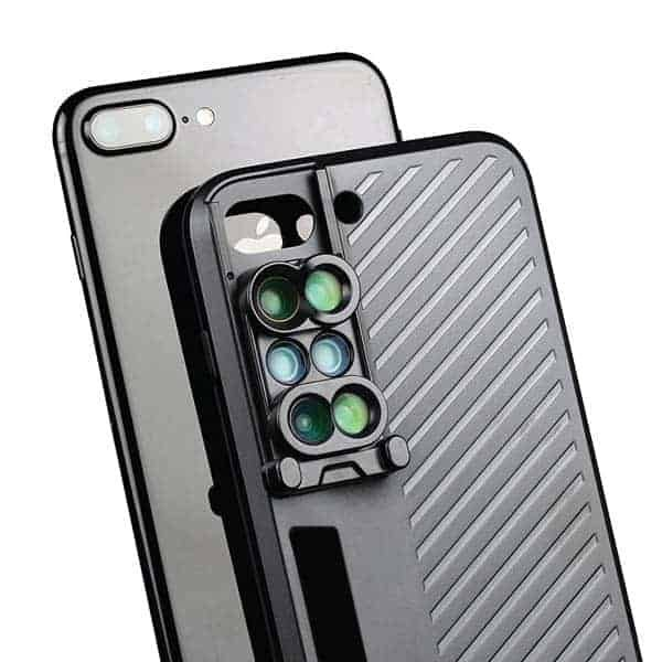 hot sale online 2e483 ded71 SHIFTCAM 6-IN-1 Dual Lens Case iPhone 7 Plus