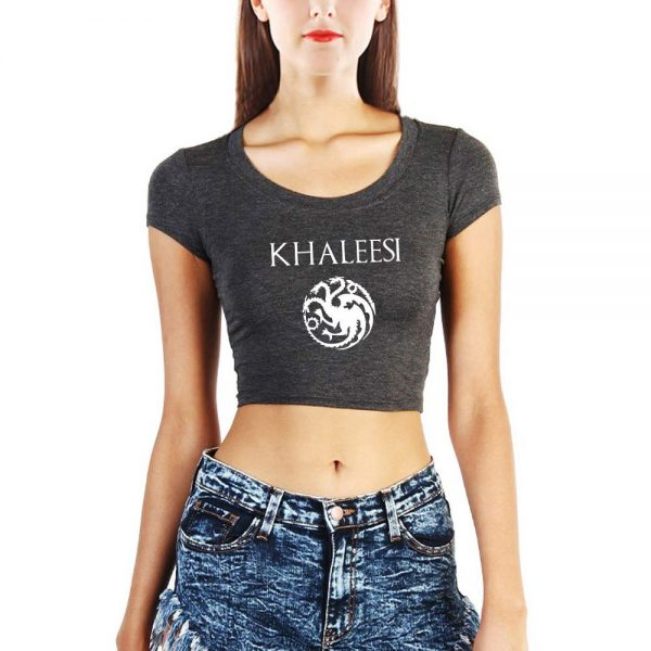 Khaleesi Crop Top