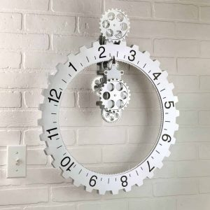 Mechanical Sprocket Clock