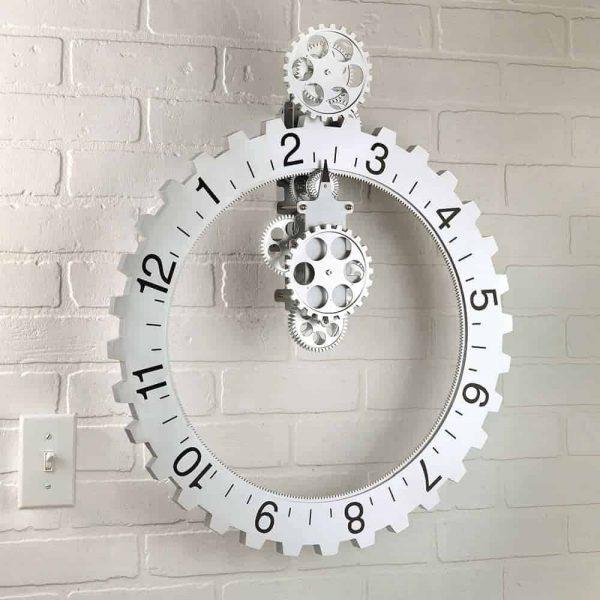 Mechanical Sprocket Clock