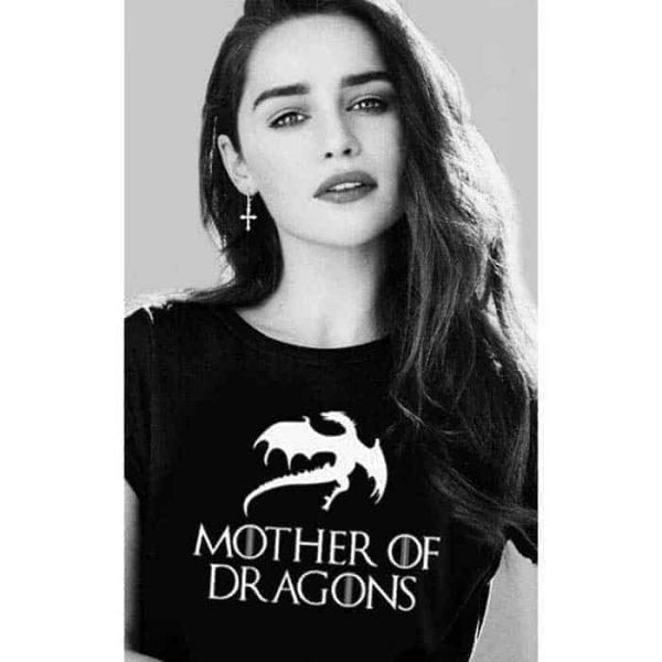 mother of dragons top t-shirt khaleesi
