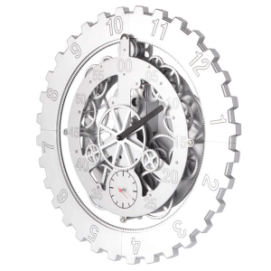 the gear clock mechanical clock large