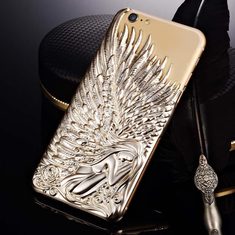 Love Crazy Angel Wings Case Cover iPhone 8 Plus