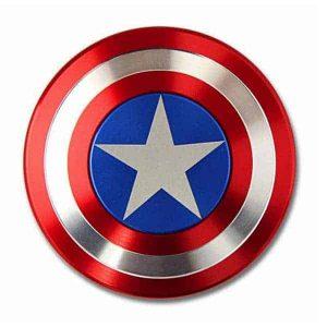 Captain America Shield Fidget Spinner