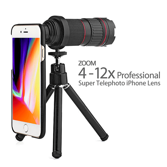 Turn your phone into a super camera